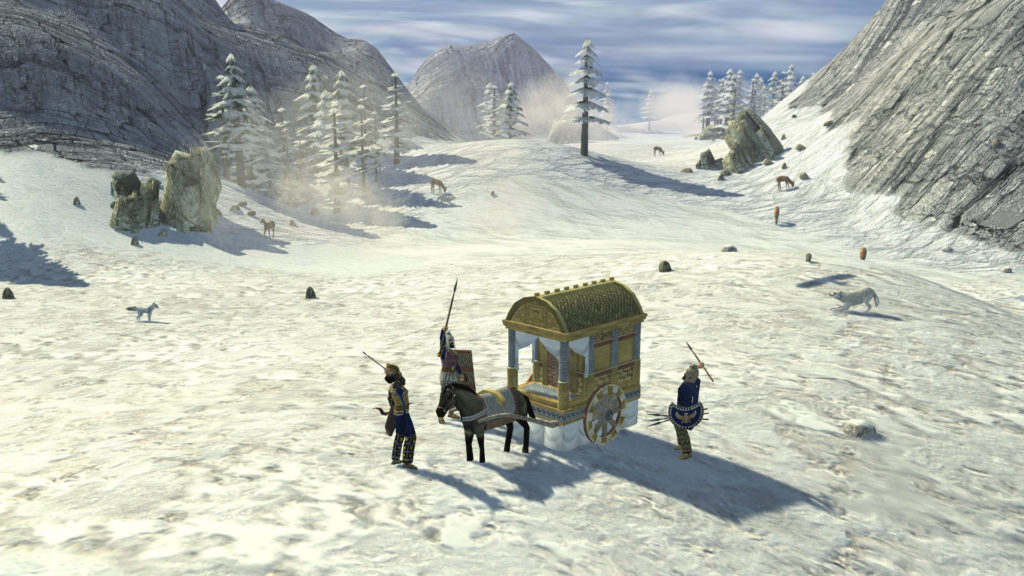 Ein Leichenwagen von 3 Feinden gefangen genommen