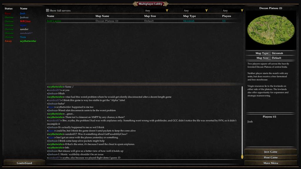 Das neue Design Multiplayer Lobby Design